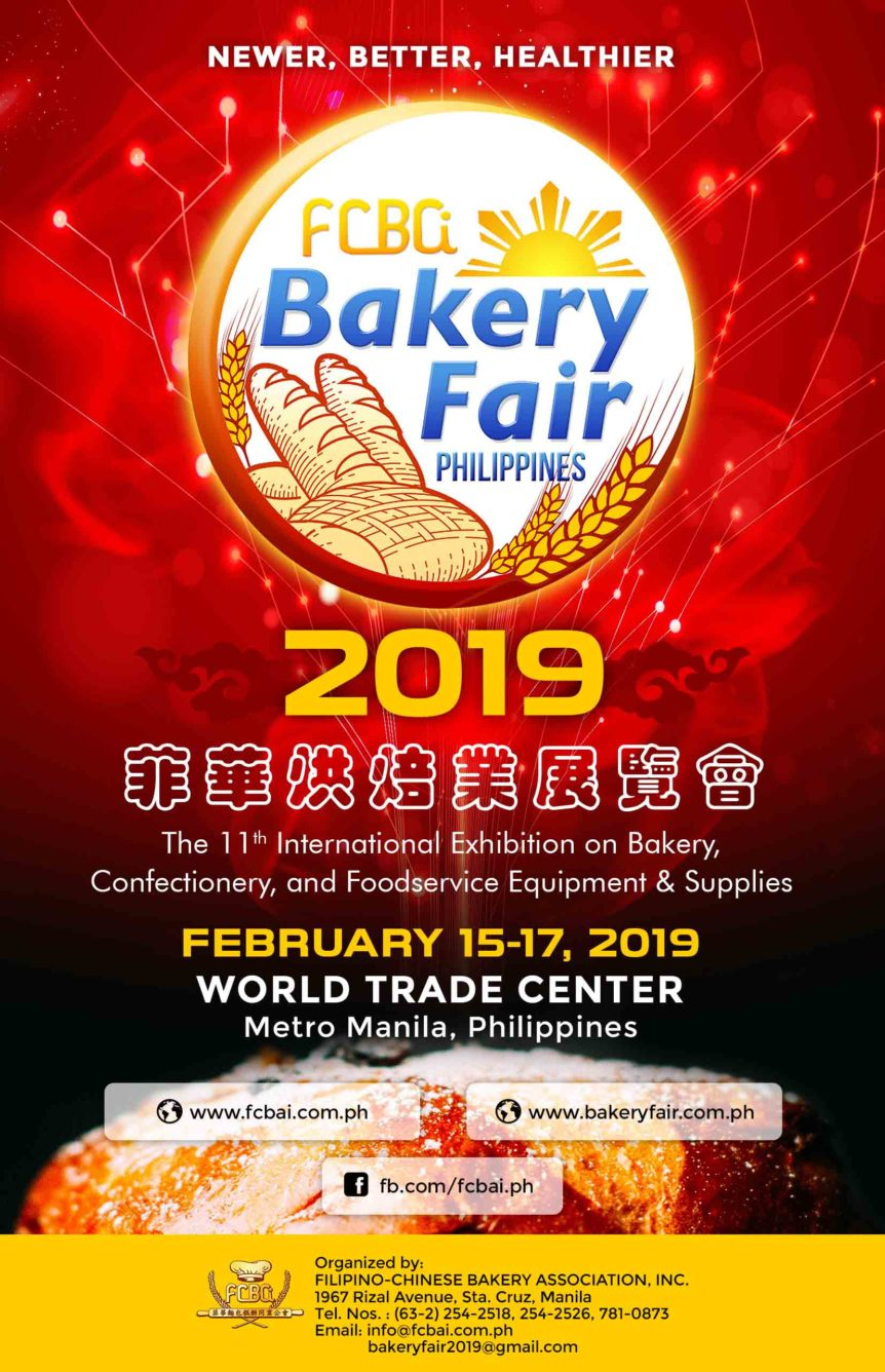 Bakery Fair – Filipino-Chinese Bakery Association Inc